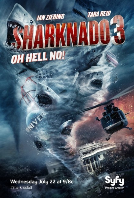 Sharknado 3 Oh Hell No (2015) poster