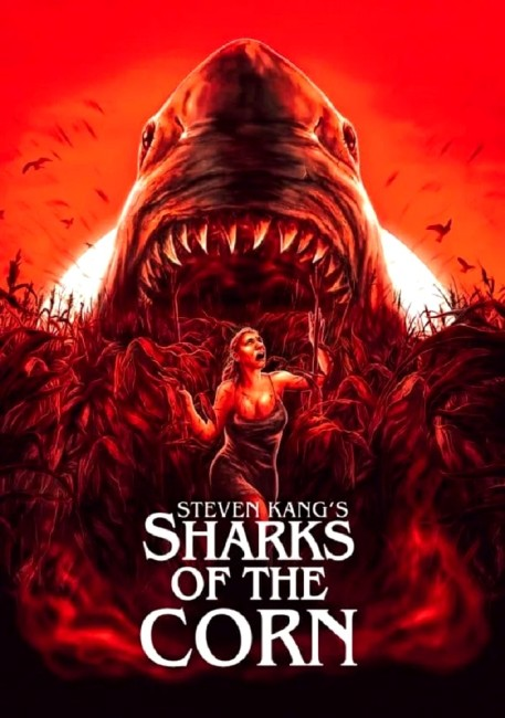 Sharks of the Corn (2021) poster