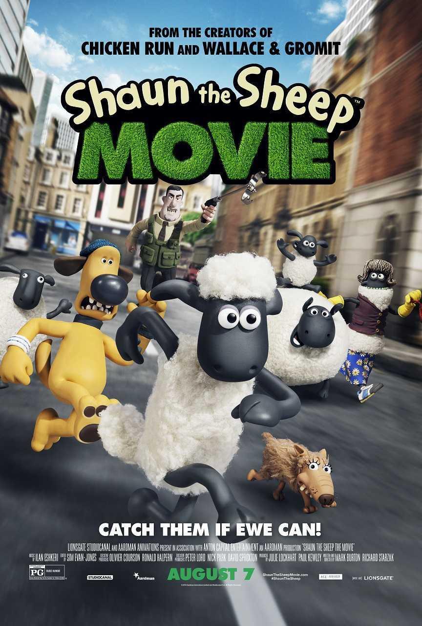 Shaun the Sheep Movie (2015) poster