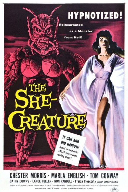The She-Creature (1956) poster