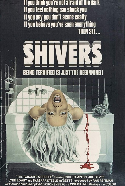 Shivers (1975) poster