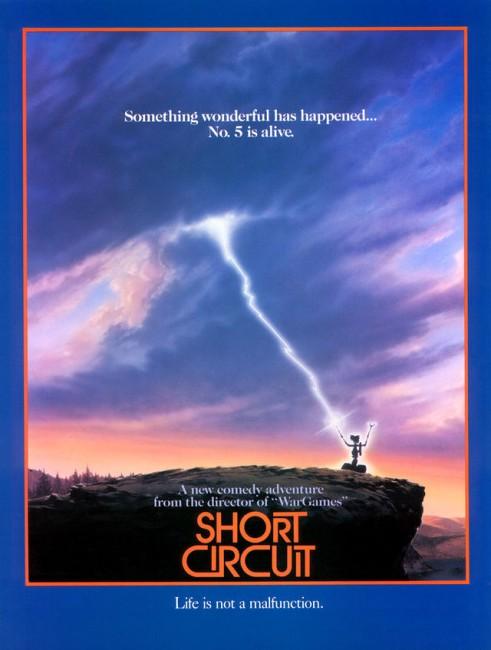 Short Circuit (1986) poster