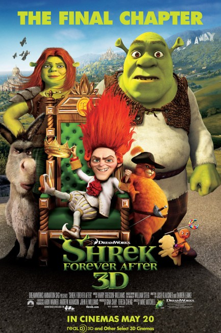 Shrek Forever After (2010) poster