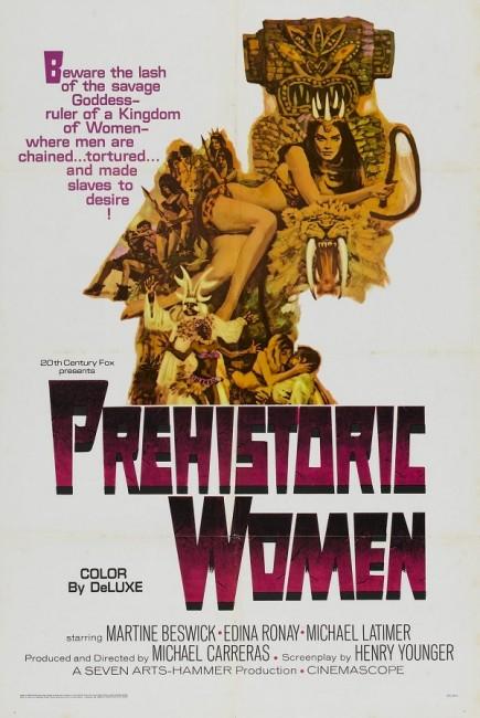 Slave Girls/Prehistoric Woman (1967) poster