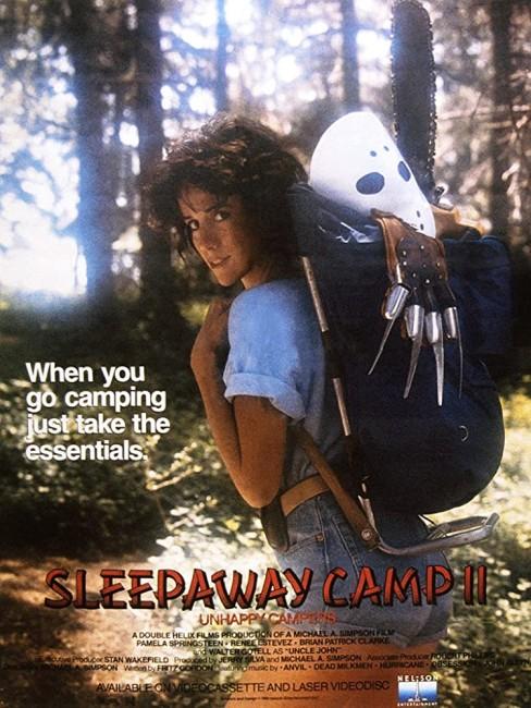 Sleepaway Camp 2: Unhappy Campers (1988) poster