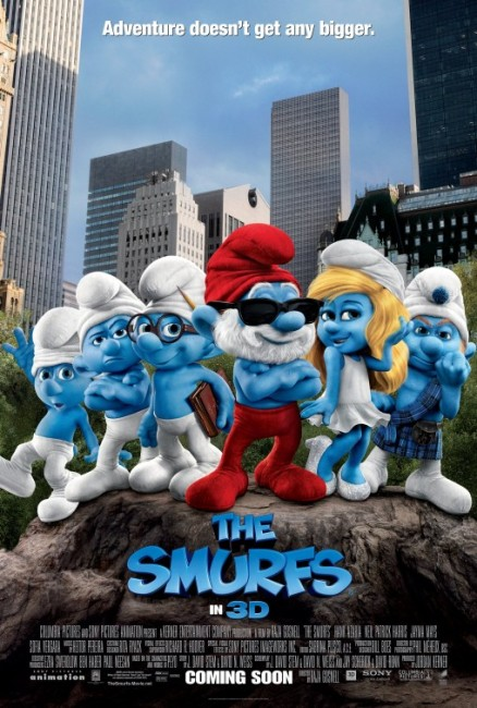 The Smurfs (2011) poster