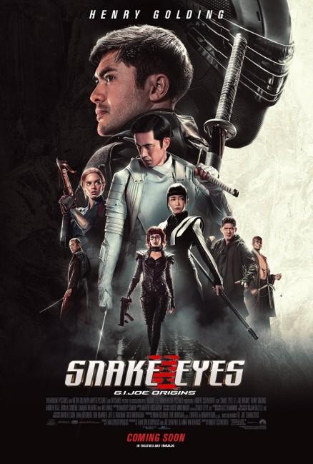 Snake Eyes: G.I. Joe Origins (2021) poster