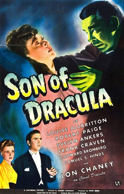 Son of Dracula (1943) poster