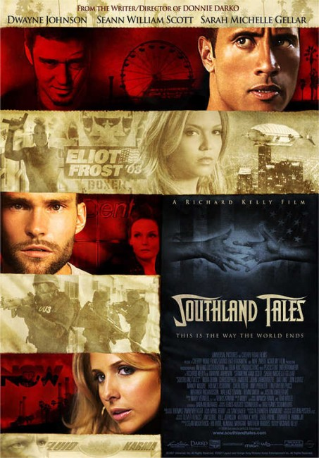 Southland Tales (2006) poster