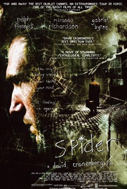 Spider (2002) poster