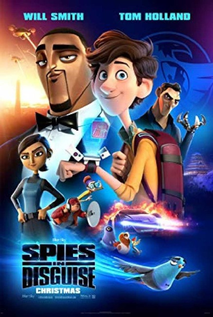 Spies in Disguise (2019) poster