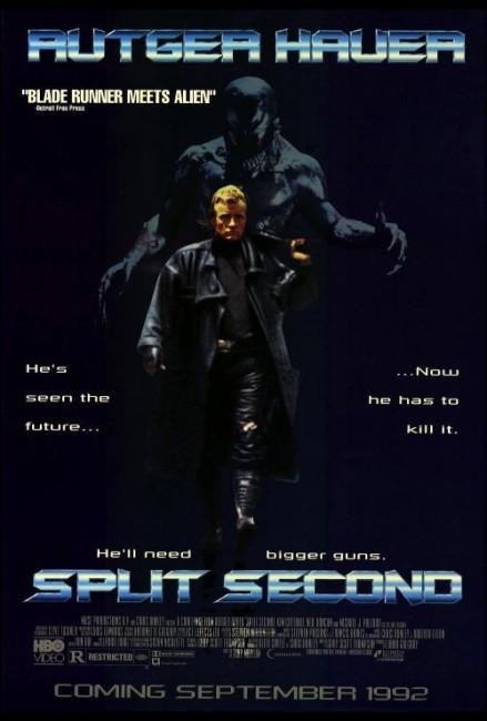 Split Second (1992) poster