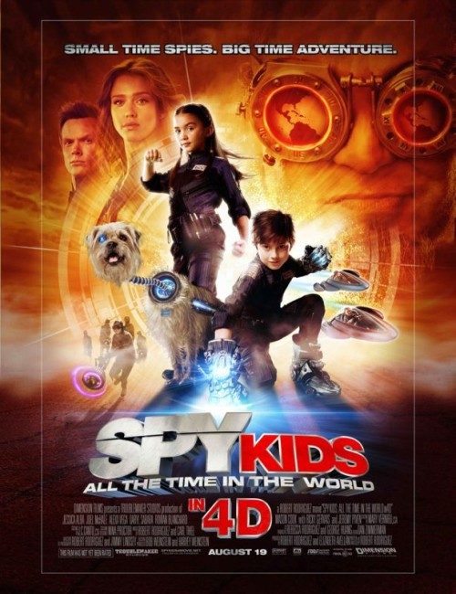 Spy Kids: All the Time in the World (2011) poster