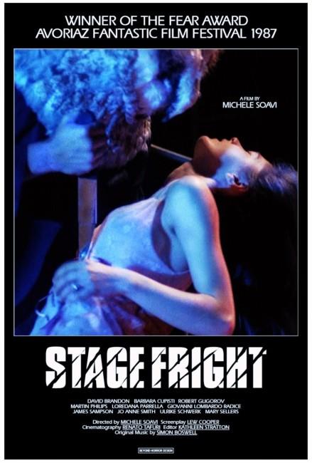 StageFright – Aquarius (1987) poster