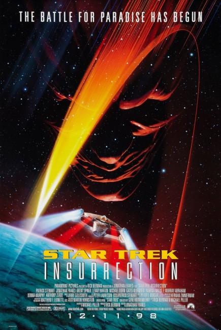 Star Trek: Insurrection (1998) poster