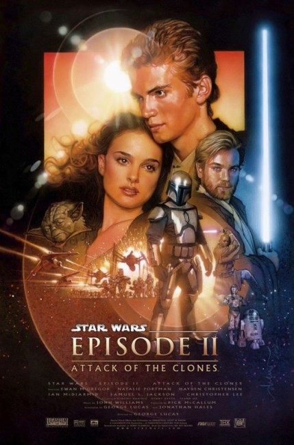 Star Wars Episode II Attack of the Clones (2002) poster