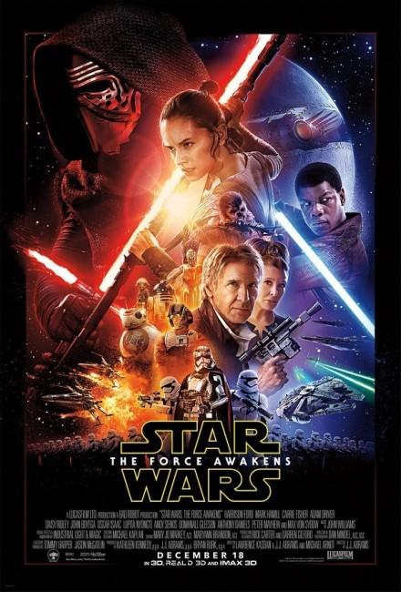 Star Wars Episode VII The Force Awakens (2015) poster