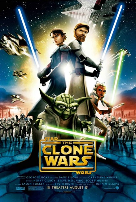 Star Wars The Clone Wars (2008) poster