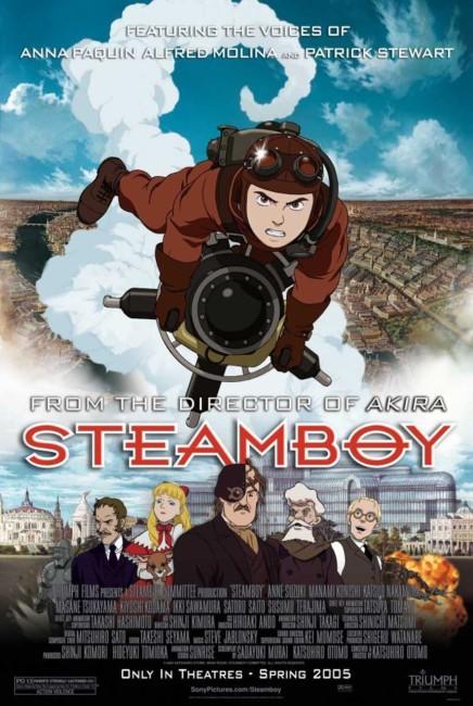 Steamboy (2004) poster