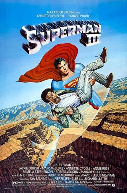 Superman III (1983) poster