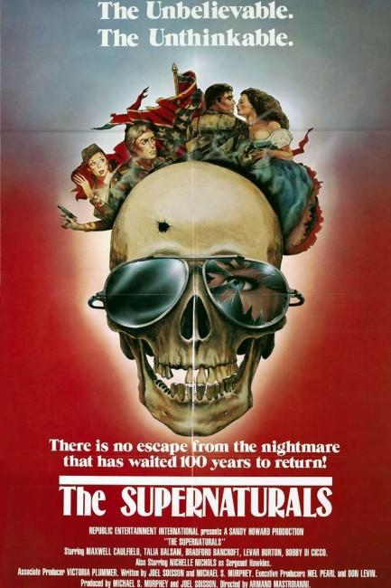 The Supernaturals (1986) poster