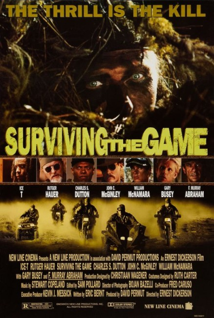 Surviving the Game (1994) poster 2