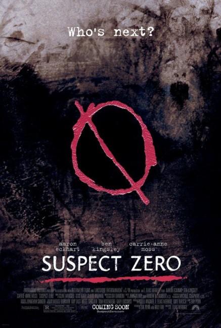 Suspect Zero (2004) poster