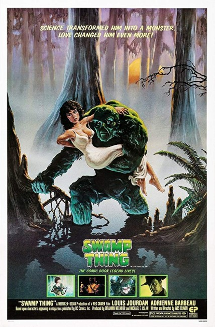 Swamp Thing (1982) poster