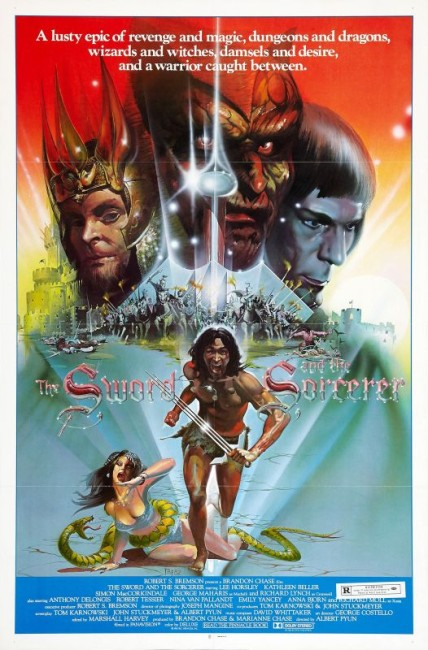 The Sword and the Sorcerer (1982) poster