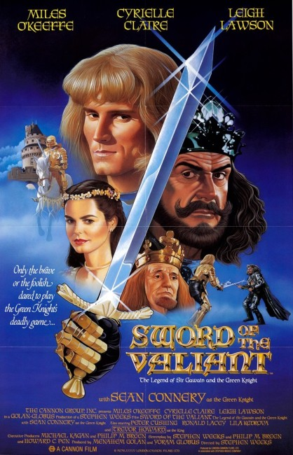 Sword of the Valiant: The Legend of Sir Gawain and the Green Knight (1984) poster
