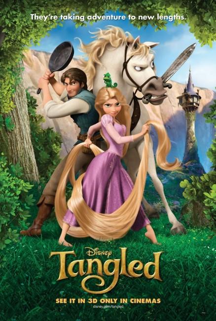 Tangled (2010) poster