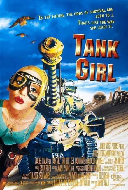 Tank Girl (1995) poster