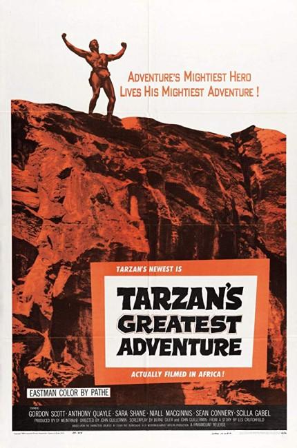 Tarzan's Greatest Adventure (1959) poster