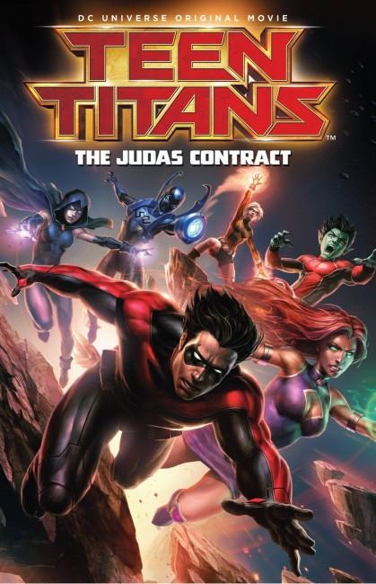 Teen Titans The Judas Contract (2017) poster