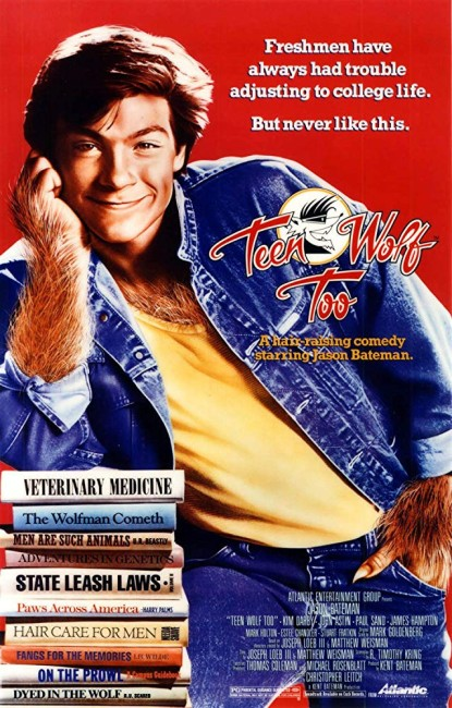 Teen Wolf Too (1987) poster