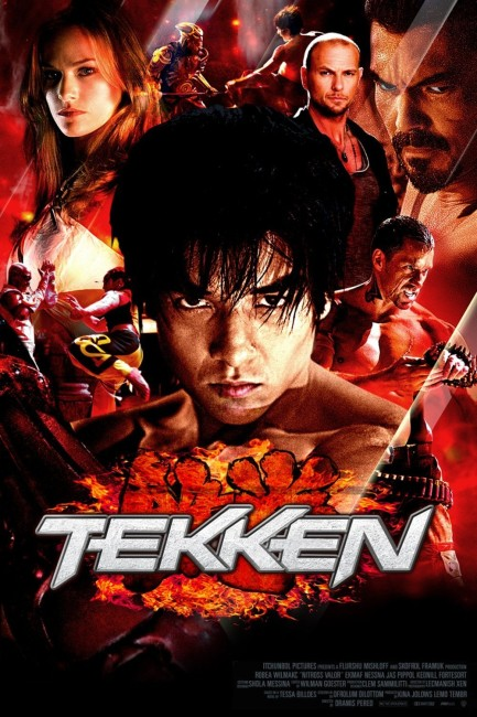Tekken (2010) poster