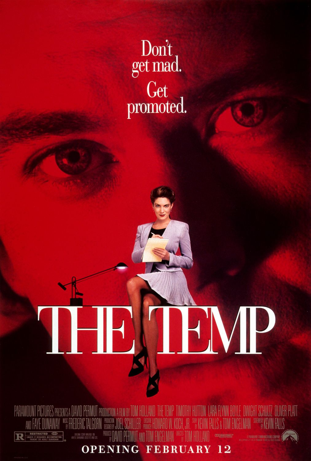 The Temp (1993) poster