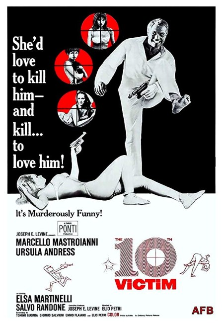 The Tenth Victim (1965) poster