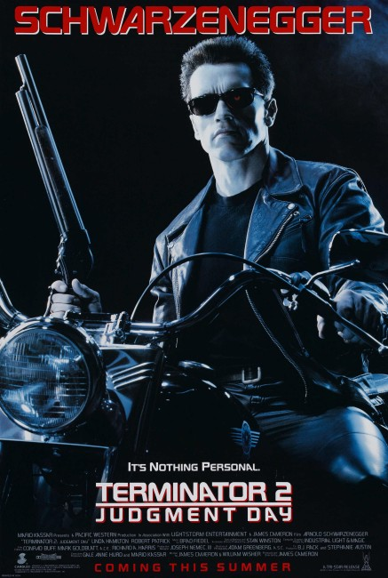 Terminator 2 Judgment Day (1991) poster