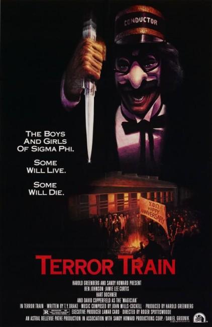Terror Train (1980) poster