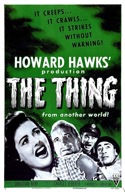 The Thing from Another World (1951) poster 2