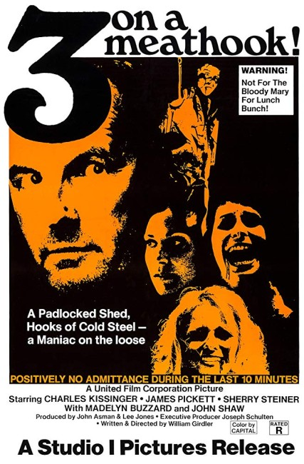 Three on a Meathook (1972) poster