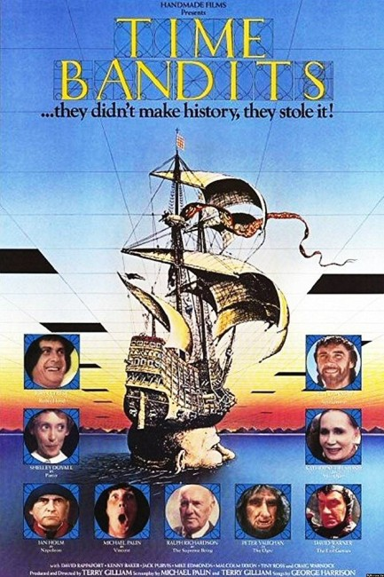Time Bandits (1981) poster