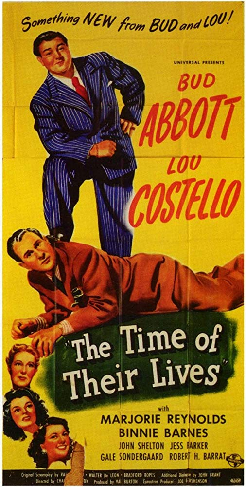 The Time of Their Lives (1946) poster
