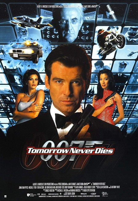 Tomorrow Never Dies (1997) poster