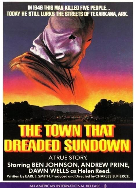 The Town That Dreaded Sundown (1976) poster