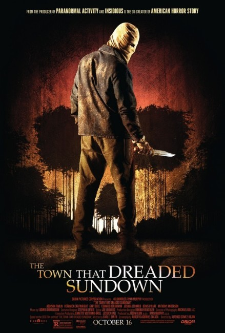 The Town That Dreaded Sundown (2014) poster