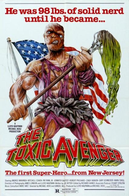 The Toxic Avenger (1986) poster