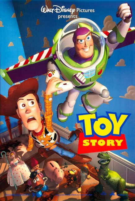 Toy Story (1995) poster
