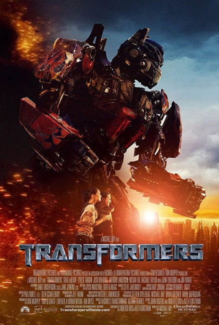 Transformers (2007) poster